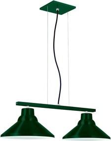 Pendente 6032 Redondo Duplo Verde