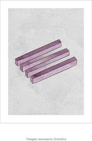 Poster Ilusão De Ótica Geométrica (60x80cm, Apenas Impressão)