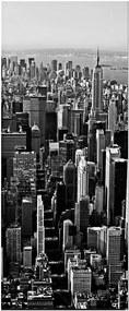 Papel de Parede para Porta New York Wallness Preto e Branco - Urban
