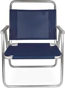 Cadeira Oversize Alumínio Azul 2132 - Mor
