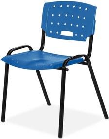 Cadeira Plastica Fit Azul Giobel