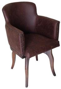 Cadeira Giratória New Pure c/ tachas - Vintage  Kleiner Schein