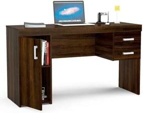 Mesa para Computador 2 Gavetas e 1 Porta Miranda  - Politorno