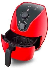 Fritadeira Elétrica Air Fryer 4L 1500W com Grade Multilaser Vermelho