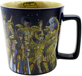 Caneca Cavaleiros Dos Zodíaco Ouro Incolor