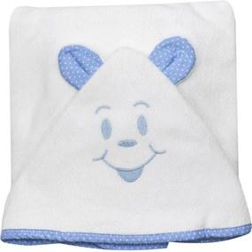 Toalha de Banho Cuca Criativa Azul