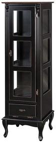 Vitrine com Porta e Gaveta Basculante - Wood Prime MY 907344