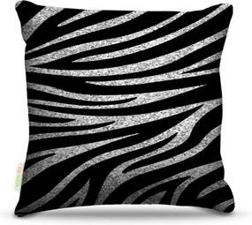 Almofada Nerderia Zebra Grunge 45X45Cm