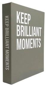 Caixa Livro Keep Brilliants Moments