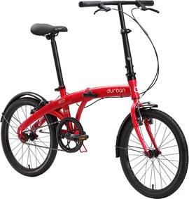 Bicicleta Dobravel ECO Vermelho - Durban