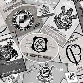 Papel De Parede Vinílico Corinthians- Sc301-01