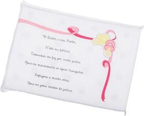 Travesseiro Anti-Sufocante Oração Bebenet Rosa