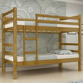 Beliche Ágata Madeira Maciça Bedroom - Castanho