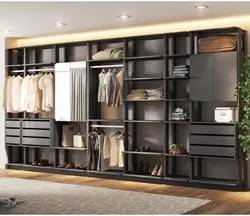 Quarto Modulado Closet Clothes 7 Módulos Espresso - BE Mobiliário