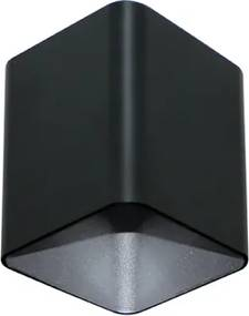 spot FRANK 1xdicroica 8cm preto/cromado  Stella SD5005