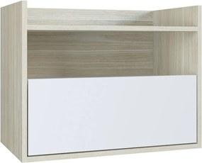Balcão P/ Banheiro Breno Branco Estilare Móveis