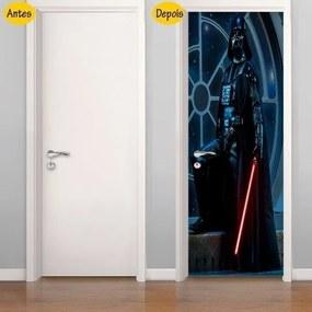 Adesivo De Porta Darth Vader (0,80m x 2,10m)