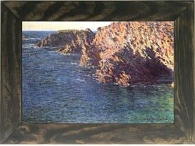 Quadro Decorativo A4 The Grotto of Port Domois - Claude Monet Cosi Dimora