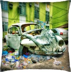 Almofada Colours Creative Photo Decor Fusca batido Verde
