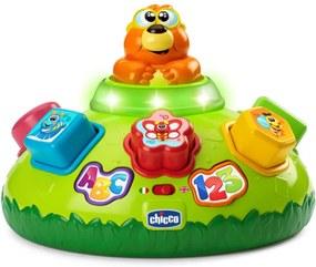 Brinquedo Chicco Pula Sam Bilíngue ABC