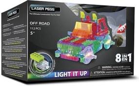Blocos de Montar Laser Pegs Off Road 8 em 1 Verde
