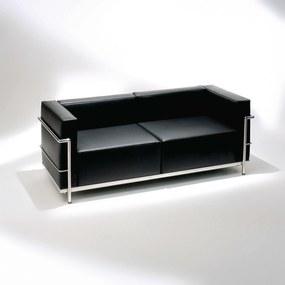 Sofá LC3 2 Lugares Studio Mais Design by Le Corbusier