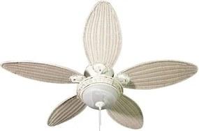 Ventilador De Teto Branco 127V Caribbean