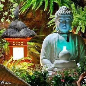 Fonte Buda para Jardim 85cm