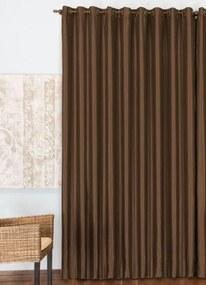 Cortina Rústica Tabaco 200x170 cm