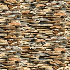 Papel de Parede Autoadesivo Pedra Nature 45CM X 10M