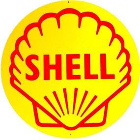 Placa Shell Redonda
