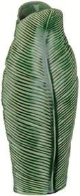 Vaso de Cerâmica Verde 41cm Leaf 7625 Mart