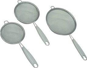 Conjunto de 3 Coadores Aço Inox 7/8/10cm Swindon