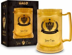 Caneca gel 300ml - atlÉtico serie ouro