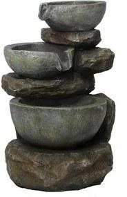 Fonte de Água Cascata de Pedras (40cm) - 110v