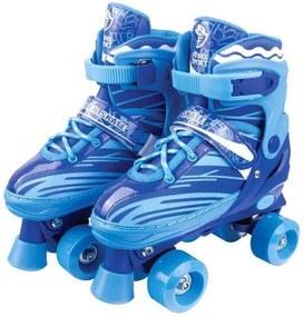 Patins Ajustável Roller Skate - Azul - Fênix Blue