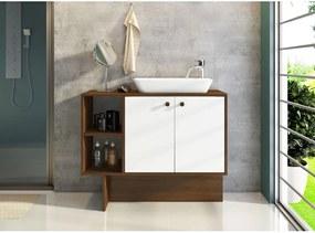 Banheiro Tok Branco E Estilare Móveis