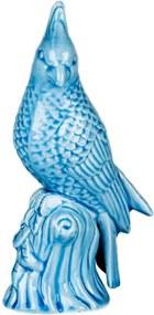 Pássaro Porcelana Azul