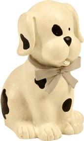 Estatueta Cachorro Pimpão - Branco