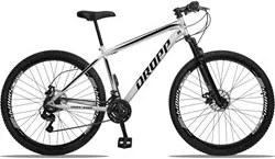 Bicicleta Aro 29 Quadro 19 Aço 21 Marchas Suspensão Freio a Disco Mecâ