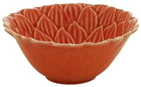 Jogo 6 Bowls Porcelana Daisy Coral 14x6cm 27746 Wolff
