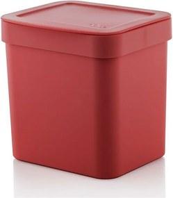 Lixeira Trium 2,5 Litros - Vermelho - Ou