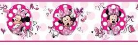 Faixa Decorativa Disney Minie Ds7702bd 0,17X4,57