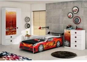 Jogo Quarto Infantil Sport Car - Móveis Estrela