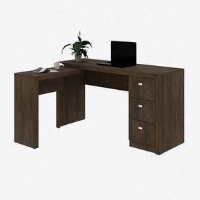 Mesa para Escritório ME4101 Rustico - Tecno Mobili