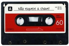 Porta Chaves Fita Vermelho Geek10 - Multicolorido