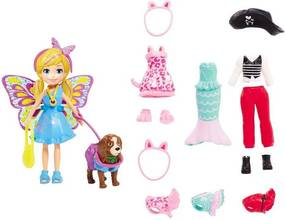 Polly Pocket Kit Cachorro Fantasias Combinadas - Mattel