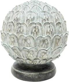 Pinha Decorativa Em Resina
