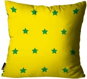 Almofada Estrela Brasil Colorida45x45cm
