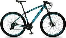 Bicicleta MTB Aro 29 Quadro 17 Alumínio 21 Marchas Freio Mecânico Vega